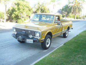 1972 Chevrolet Cheyenne 4x4 Pickup