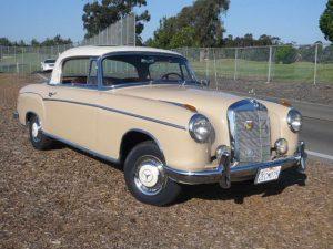 1959 Mercedes 220SE Coupe