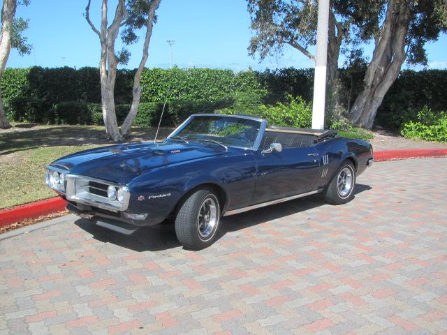 1968 Pontiac Firebird 400 Convertable