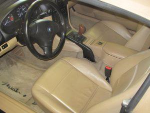 1999 Mazda Miata interior